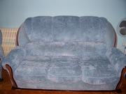 продам м'ягку частину(диван і два крісла)б/у в хорошому стані