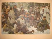 Копія картини Ю.НепринцеваОтдых после боя.