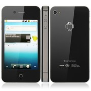 iPhone 4S W008 Android 2.2 Емкостной экран 2сим Wi-Fi+GPS