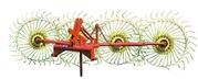 Грабли ворошилки навесные (Солнышко) 4-х колесные