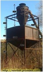 Аспірація деревообробного цеху,  видалення тирси