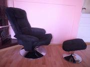 Оригінальне м'яке крісло з пуфіком для всієї сім'ї