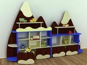 Стенка детская Эверест,  Мебель для детских садов