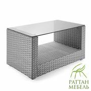Мебель из ротанга недорого,  Стол Хай-тек U
