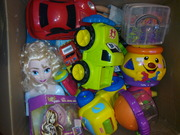 Іграшки пластикові секонд хенд із Англії