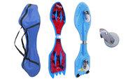 Двухколесный скейт Ripstik SK-0330 (Рипстик) Spiderman,  Batman красный
